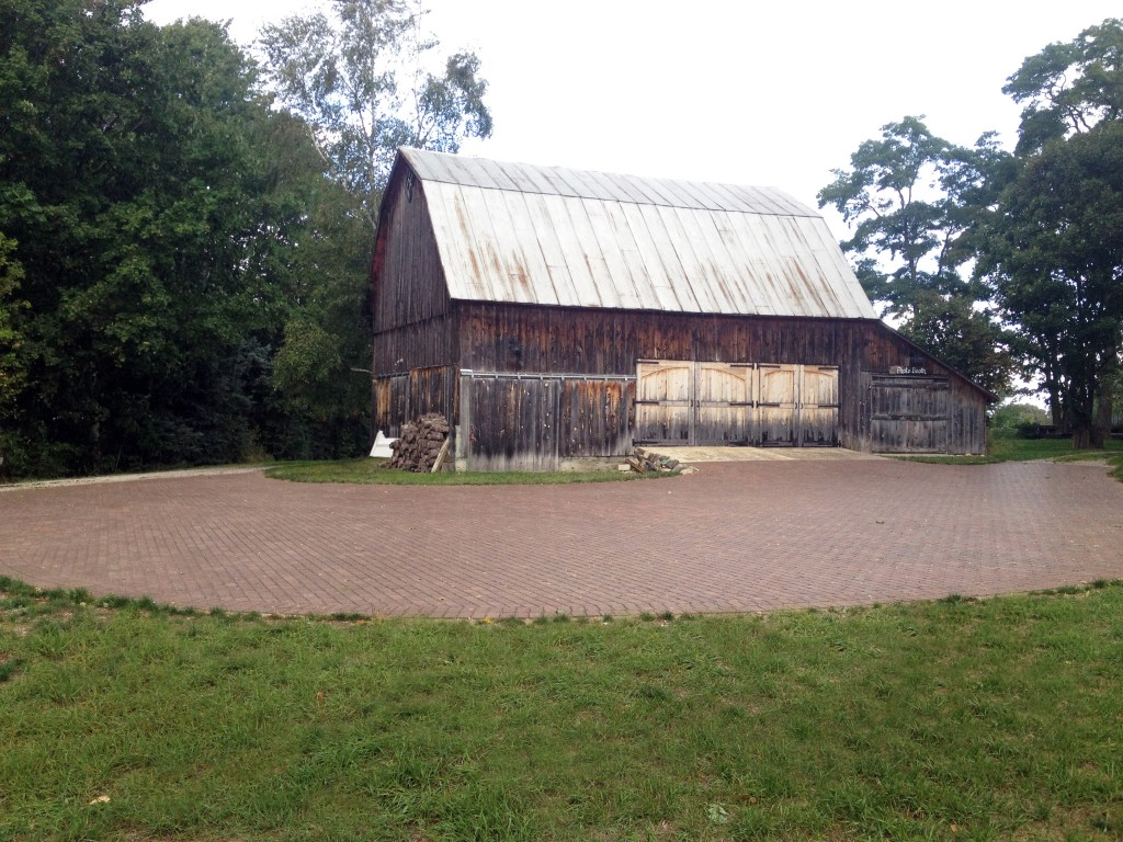 turn of the century wooden barn