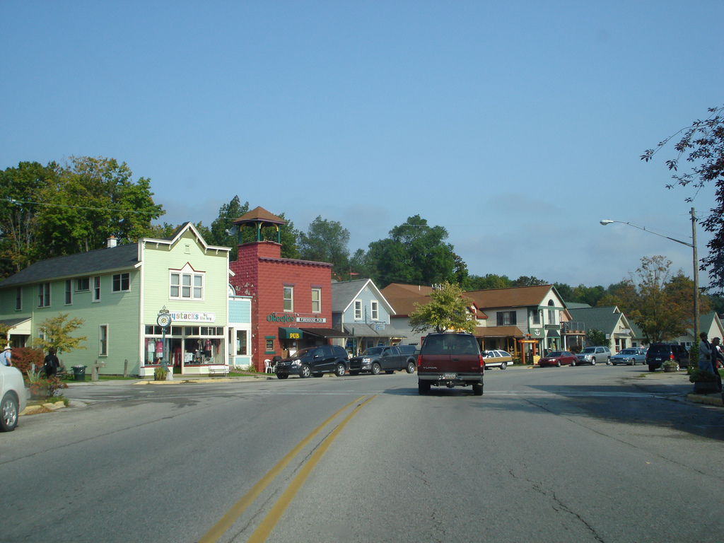 Downtown Suttons Bay